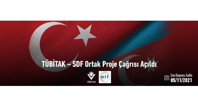 TÜBİTAK – SDF Ortak Proje Çağrısı! Son Başvuru: 05 Kasım 2021