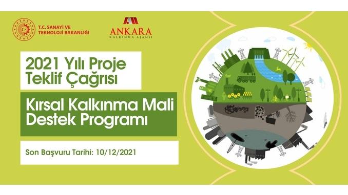 Ankara Kalkınma Ajansı Kırsal Kalkınma Mali Destek Programı! Son Başvuru Tarihi: 10 Aralık 2021