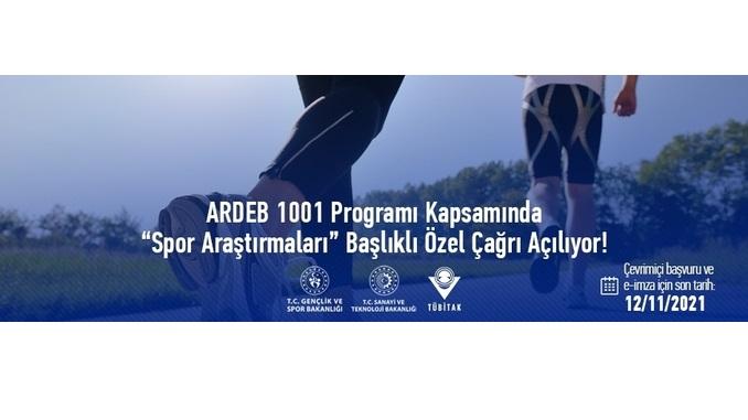 """ARDEB 1001 Programı Kapsamında """"Spor Araştırmaları"""" Başlıklı Özel Çağrı! Son Başvuru Tarihi: 12 Kasım 2021"""