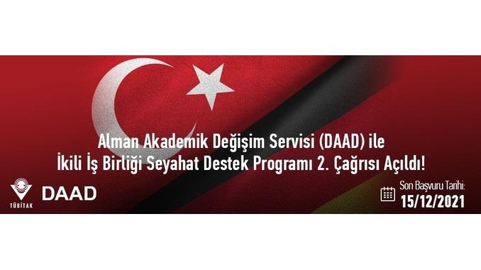 Alman Akademik Değişim Servisi (DAAD) ile İkili İşbirliği Seyahat Destek Programı 2. Çağrısı Açıldı! Son Başvuru: 15 Aralık 2021