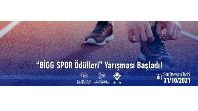 """Spor Teknolojileri Alanındaki BİGG Projeleri için """"BİGG SPOR Ödülleri"""" Yarışması Başlıyor! Son Başvuru: 31 Ekim 2021"""