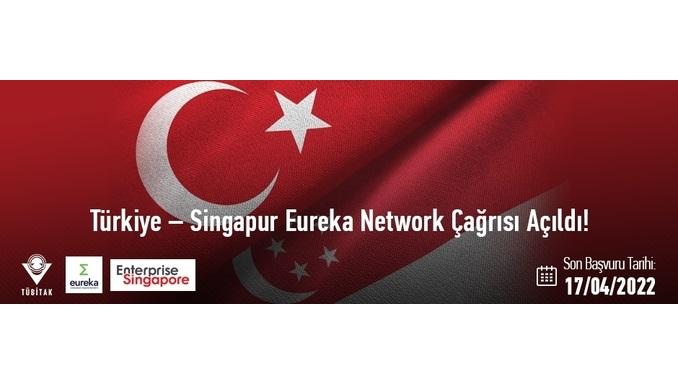 Türkiye-Singapur Eureka Network Projeleri 2021 Yılı Çağrısı! 1. Aşama/Uluslararası Başvuru: 17 Nisan 2022
