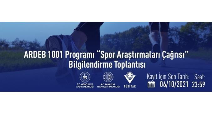 """ARDEB 1001 Programı """"Spor Araştırmaları Çağrısı"""" Bilgilendirme Toplantısı"""